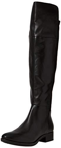 Geox Damen D Felicity G Overknees, Schwarz (Black C9999), 39 EU