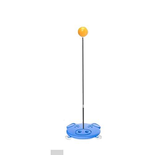 BBGSFDC Mesa de Ping Pong Trainer for Niños portátil Bolas de Ping-Pong paletas Conjunto Mesa de Ping Pong Juguete elástico del Eje Trainer (Size : 65cm)