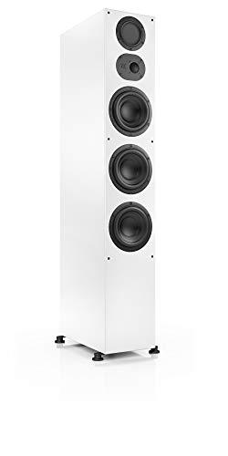 Nubert nuLine 334 Standlautsprecher | Lautsprecher für Stereo & Musikgenuss | Heimkino & HiFi Qualität auf hohem Niveau | Passive Standbox mit 3 Wege Technik Made in Germany | Standbox Weiß | 1 Stück