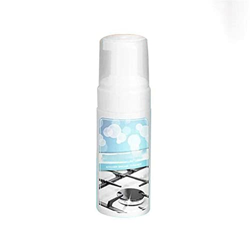 Limpiador de grasa en aerosol Desengrasante en aerosol para cocina, removedor de grasa en espuma de cocina, limpiador en polvo para limpiar ollas y sartenes, multiusos 2 * 100 ml