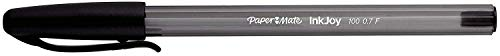 Paper Mate InkJoy 100ST Ballpoint Pens   Fine Point (0.7mm)   Black   5 Count
