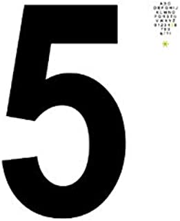 Alphabet 5 | A B C D E F G H I J K L M N O P Q R S T U V W X Y Z 0 1 2 3 4 5 6 7 8 9 & / ? ! *: Notizblock | 120 Seiten We...