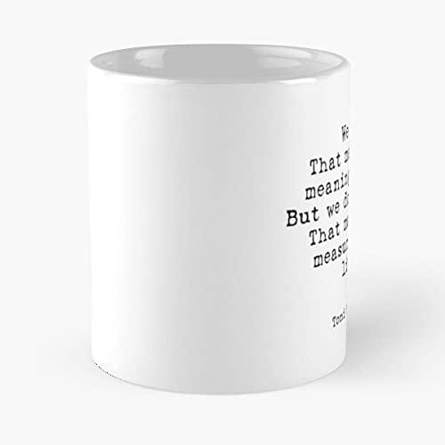Toni Morrison Quote| Gift for Writers| Lantage Quotes – La mejor taza de café de cerámica de mármol blanco