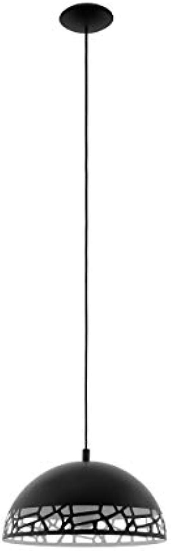 EGLO SAVIGNANO Hngeleuchte, Stahl, 60 W, schwarz, weiss