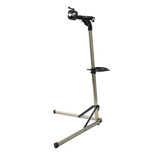 Bikehand Bike Repair Stand (Max 55 lbs) - Home Portable Bicycle Mechanics Workstand - for Mountain Bikes and Road Bikes Maintenance