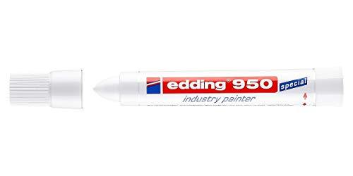 edding 4-950-1-4049 Spezialmarker Industrie Painter 950, 10 mm, weiß