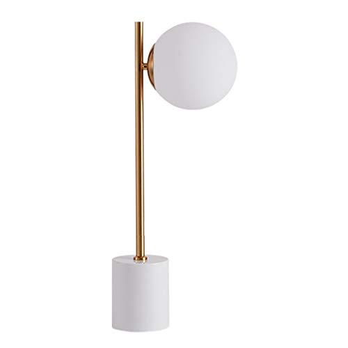 Lámpara de Mesa Lámpara de mesa 22.6' Lámpara de lectura Cristal bombeado Pantalla Escritorio Lámparas de mesa Revestimiento de cobre E27 cabecera por un estudio dormitorio y sala de estar Lámpara de