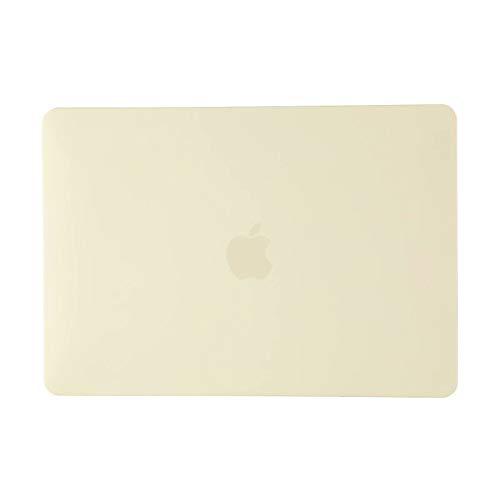 ACJYX DNY3 - Carcasa rígida compatible con MacBook Air de 13 pulgadas, modelo A1932, versión más reciente con pantalla Retina y Touch ID, color crema y amarillo