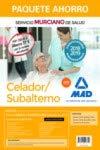 Paquete Ahorro Celador/Subalterno del Servicio Murciano de Salud. Ahorra 51 € (incluye Temario parte general  y test; Temario parte específica y test; Simulacros de examen; acceso a Campus Oro)