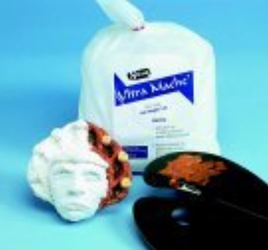 Sax Non-Toxic Ultra Mache - 12 Pounds - White