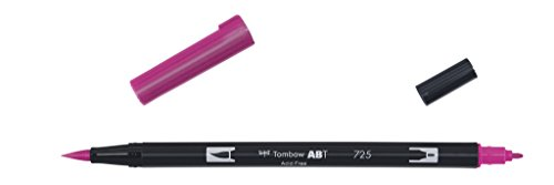 Tombow ABT-6P-3 Dual Brush Pen (Pack of 6), Multicolor |