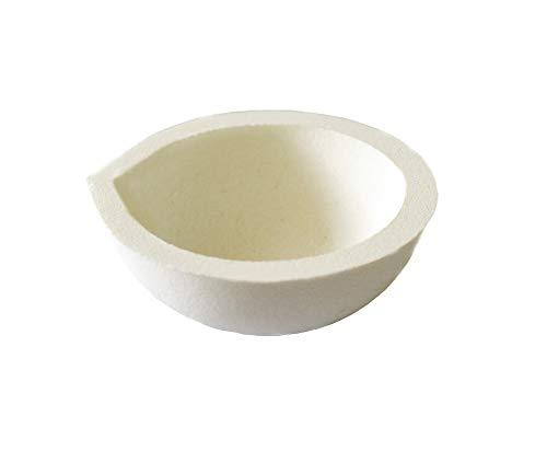 LLF - Crisol de cerámica para refinado de fundición de plata y oro, 100 g
