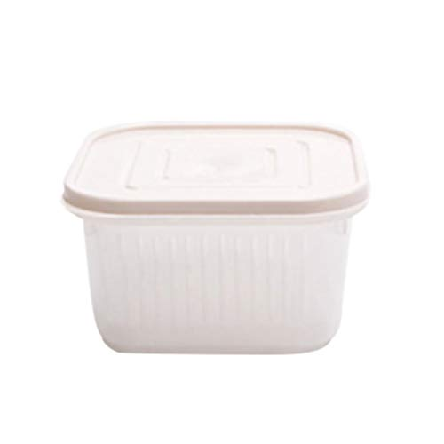 Discover Bargain Hurrybuy Food Storage Container,Plastic Fruits Vegetables Freezer Containers with R...