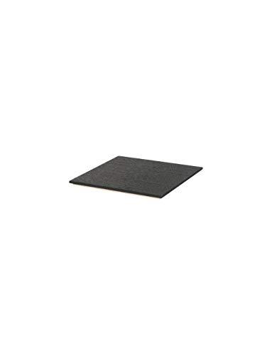 Ferm Living Tablett, Eichenfurnier, Black, 1,2x26x26