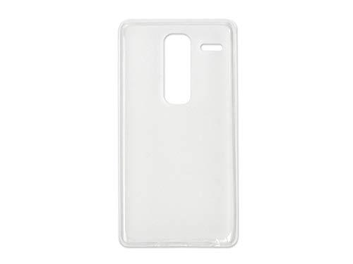 etuo Handyhülle für LG Zero - Hülle, Silikon, Gummi Schutzhülle - Weiß