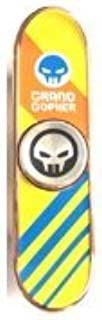 Grand Gopher Fidget Spinner Finger Skateboard - Gold Tricolor