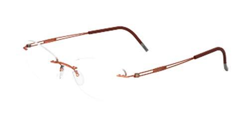 Eyeglasses Silhouette TNG 2018 (5521) 2540 Russet Orange 51/17/140 3 piece fra