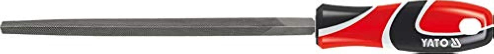 مبرد فولاذي ثلاثي الزوايا من ياتو YT-6225 ، طول 250 ملم