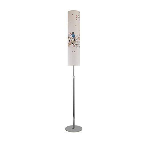 Staande lampen, vloerlampen, Nordic eenvoudige moderne vloerlamp, woonkamer, slaapkamer, studeerkamer, slaapbank, creatieve LED, verticale tafellamp, afstandsbediening