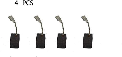 Kohlebürsten kompatibel für Bosch 1380 GWS 7-115 Winkelschleifer 1 619 P02 870 S16G, Bürsten-Ersatzteil für Elektrowerkzeuge, 4 Stück