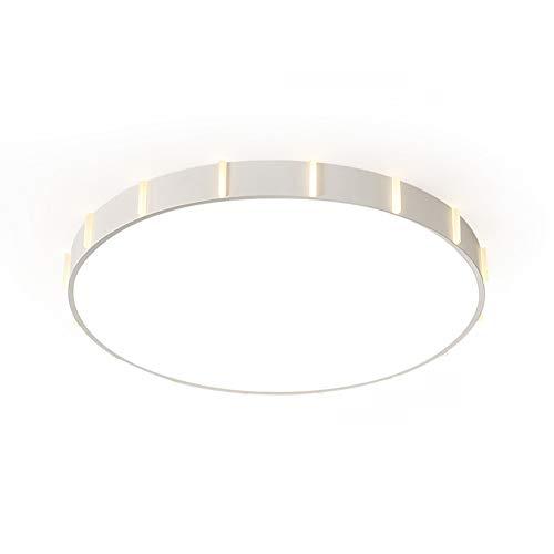 BOOHR Lámpara de Techo LED de habitación Lámparas Modernas Simples Creativas, lámparas de Dormitorio de la Sala de Estar pequeño de la casa Redonda, lámparas de Techo Personalizadas, luz Blanca/luz
