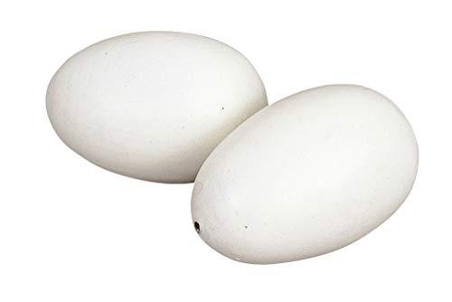 Kerbl 73002/2 Nesteier aus Holz für Hühner, 2 Stück