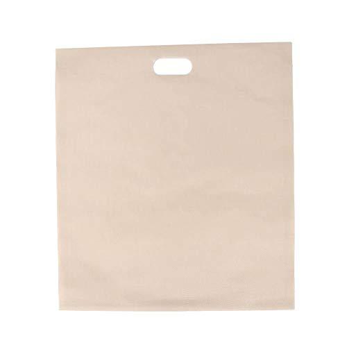 Bolsa de tostadora tipo sándwich de 5 piezas, bolsa de repostería resistente al calor y antiadherente reutilizable para parrilla de horno de microondas(6.7 x 7.5in)