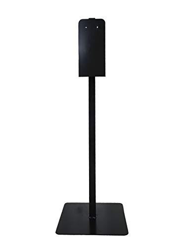 Portable Hand Sanitizer/Soap Dispenser Stand (Black)