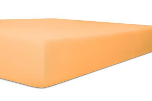 Kneer Exclusive-Stretch Q93 hoeslaken 40cm extra hoog, kleur:08 - perzik;maat:140x200-160x220 cm