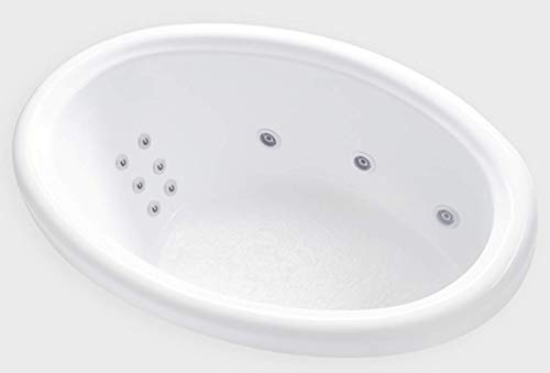 Carver Tubs - DJO5839 - 12 Jet Whirlpool - 58
