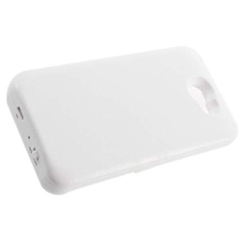 CloverGorge 3500mAh Cargador de batería de Respaldo Externo Carcasa de Banco de energía para HTC One G23