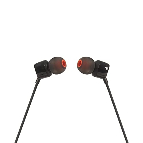 JBL TUNE 110 – Fone de ouvido intra-auricular com controle remoto de um botão – Preto