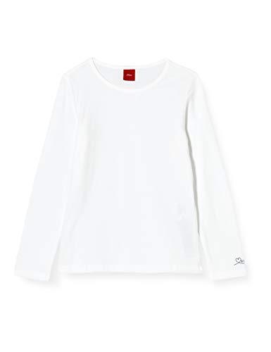 s.Oliver Junior Mädchen 403.11.899.12.130.2043342 T-Shirt, 0100, 128/134/REG