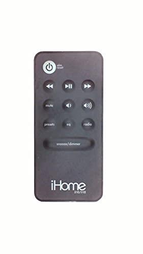 iHome Remote Control for the iHome iH6 & iH8 iPod Clock Radio Docking Station Speaker Sound System Player