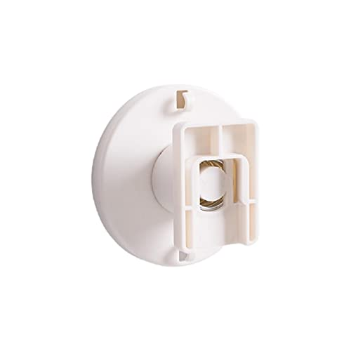 Soporte de pared Soporte de enchufe giratorio adhesivo de la tira de poder fijador de cable de alambre Rack de zócalo