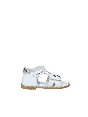 Melania ME8002B8E.A Sandalo Velcro Enfant Blanc 20