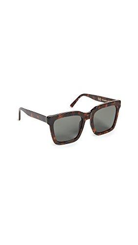Occhiali da sole Unisex RetroSuperFuture modello AALTO CLASSIC HAVANA colore avana lenti nere zeiss