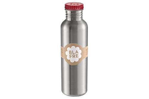Blafre - Flasche aus recyceltem Edelstahl, 750 ml, rot – klassisches Design und eine super Möglichkeit, Kunststoffe zu vermeiden.