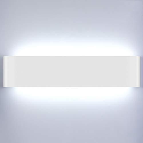 Lightess 18W 40CM Apliques de Pared LED Lámpara de Pared Interior Luz...