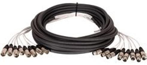Tec Nec 8-Channel XLRF-XLRM Audio Snake 25ft-by-TecNec