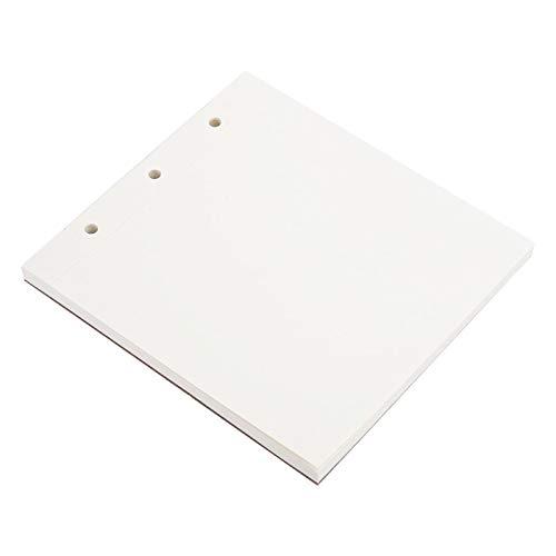 SALUTUYA Práctico y práctico Papel de Dibujo Pesado para niños y Adultos.(White Cardboard Core)