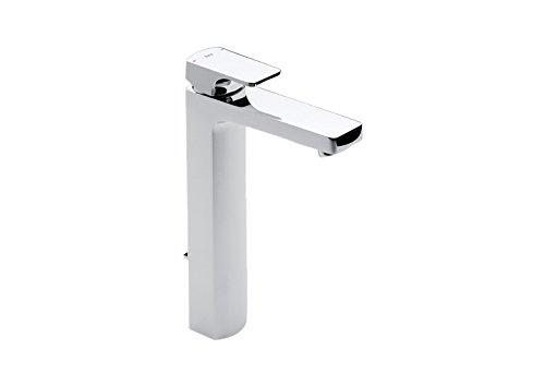 Roca L90 - grifo monomando para lavabo con caño alto y desagüe automático . Griferías hidrosanitarias Monomando. Ref.A5A3401C00