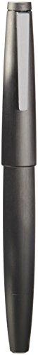 Lamy 2000 - Penna stilografica con pennino obliquo medio, colore: Metallizzato