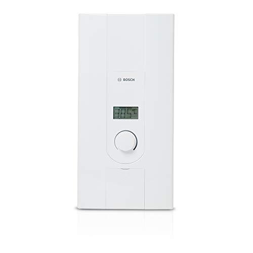 Bosch elektronischer Durchlauferhitzer Tronic 7000, 21/24 kW, Übertischgerät, druckfest mit 2-in-1 Leistungsumschaltung, LCD-Anzeige