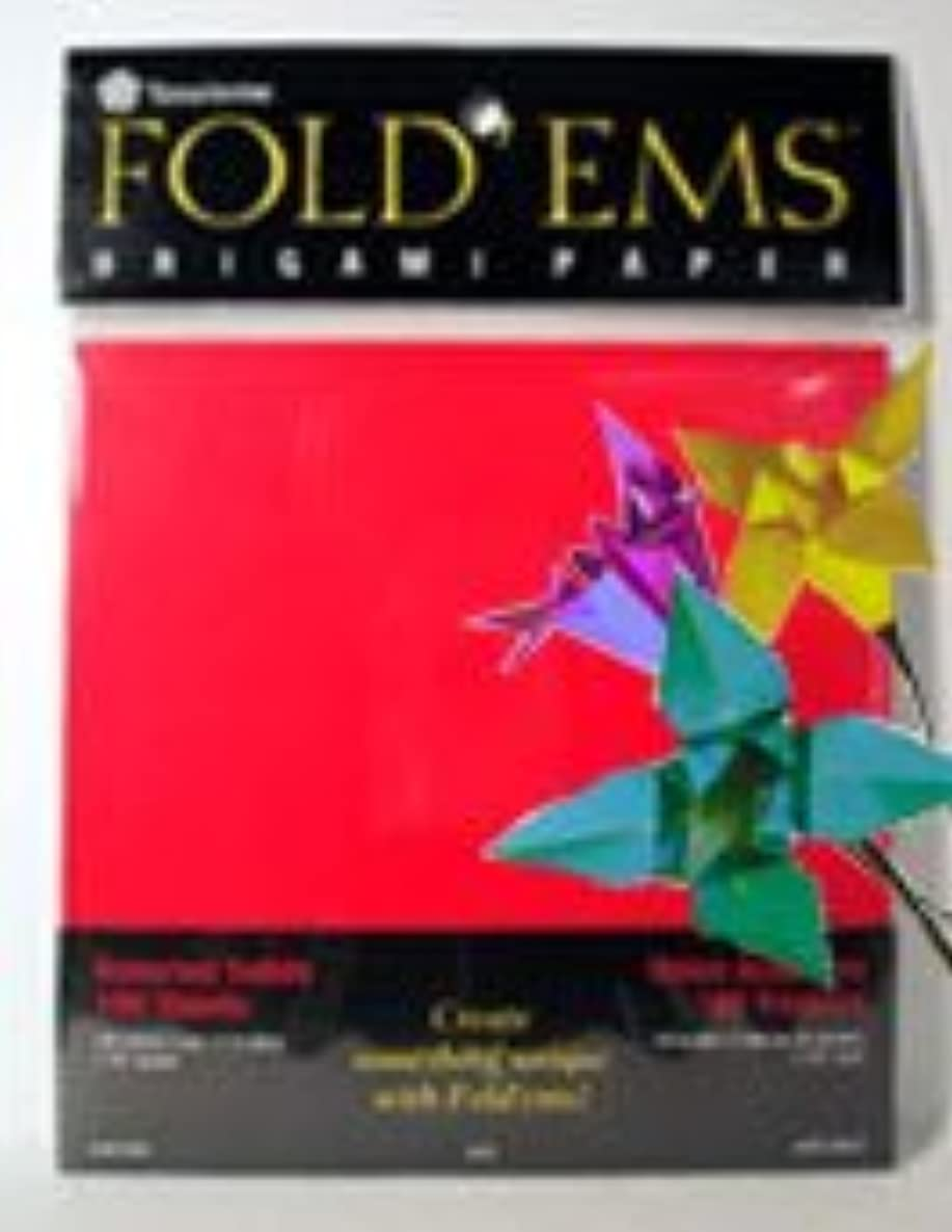Yasutomo Fold'ems Origami Paper bright assortment 9 3/4 in. pack of 100