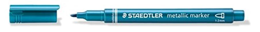 Staedtler Metallic Marker - Blue (Pack of 10)