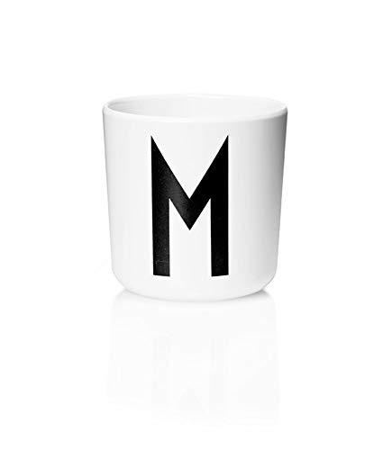 Design Letters - Melamin Becher - Buchstabe: M - Multifunktionsbecher. Der Klassiker für Baby und Kinder