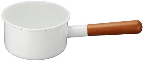 野田琺瑯 ミルクパン ポーチカ 12cm PO-12M