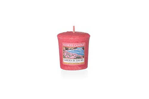 Yankee Candle 1533677E Bougie Votive Jardin du Littoral, Cire, Rose, 4,6 x 4,5 x 5,3 cm