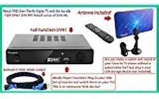 Mediasonic HW150PVR HomeWorx HDTV Digital Converter Box with HDMI, Recording Function and USB Playback + Digital Antenna +...